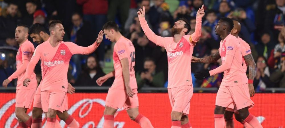 Messi si Suarez aduc victoria Barcelonei, 2-1 la Getafe   Real Madrid, IN GENUNCHI pe Bernabeu, 0-2 cu Real Sociedad   Sevilla 1-1 Atletico Madrid