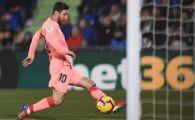 NOU RECORD pentru Messi in tricoul Barcelonei! Ce a reusit dupa golul marcat cu Getafe: CIFRE SENZATIONALE