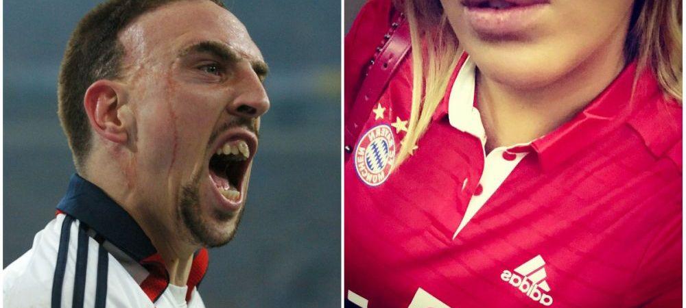 """Cum arata femeia pentru care Ribery s-a convertit la Islam! Scandalul """"FRIPTURA DE AUR"""" continua: """"Liniste, haterilor!"""" FOTO"""