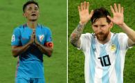 Anonimul care l-a intrecut pe Messi si il ameninta pe Ronaldo! Este al doilea marcator international in activitate! Pentru ce tara joaca