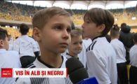 La zero grade, zeci de copii au ocupat Arena Nationala! Vor sa ajunga la Juventus si sa-l cunoasca pe Ronaldo