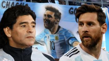 """""""Il iubesc din toata inima, dar nu va fi niciodata un lider!"""" Un nou atac al lui Maradona asupra lui Messi"""