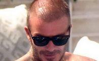 Transformare SOC pentru Beckham! Cum arata dupa ce si-a facut IMPLANT de par! Galerie FOTO