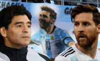 """N-o sa fie niciodata un LIDER!"" Maradona il face PRAF pe Messi! Atac fara precedent"