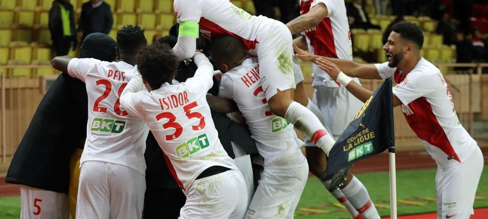 Meci absolut NEBUN in Franta! Au ajuns si portarii sa execute penalty-uri in AS Monaco - Rennes! Ce s-a intamplat