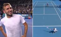 """Lovitura anului la Australian Open! Jucatorul suspendat pentru consum de cocaina a reusit """"reluarea scorpionului"""" VIDEO"""