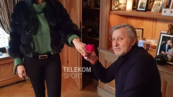 Ilie Nastase se insoara a 5-a oara!!! I-a dat inel de 15 000 de euro iubitei, dupa 5 luni de relatie! Cum arata Ioana, femeia care i-a luat mintile