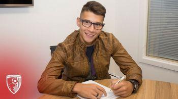Jucatorul din nationala U21 a Romaniei care a semnat IN LIGA A PATRA din Anglia. Transferul anuntat astazi: a plecat pentru a fi titular