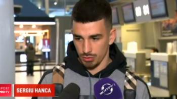"""Visul urat s-a incheiat! Hanca: """"A fost o perioada nefericita la Dinamo!"""""""