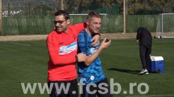 VIDEO | FCSB a inceput pregatirea in Spania! Primele imagini cu antrenamentul condus de Mihai Teja!