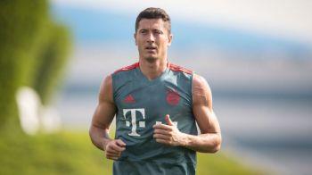 """A dormit in sala de forta"". Transformarea incredibila a lui Lewandowski de sarbatori! Cum a aparut la primul antrenament al lui Bayern"