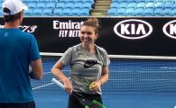 Simona Halep Australian Open | Imaginea zilei: Simona Halep s-a antrenat din nou alaturi de Darren Cahill