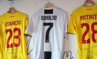 Singurul loc in care Ronaldo imparte vestiarul cu Stanciu si Mitrita :) VIDEO