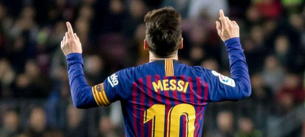 Leo Messi, performanta incredibila! Argentinianul, primul jucator care ajunge la borna 400 in La Liga! Reactia comentatorului este fantastica!