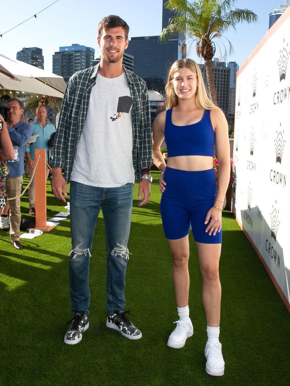 Bouchard, aparitie SOC la petrecerea jucatoarelor de la Australian Open.