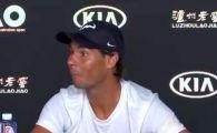 FABULOS! Nadal, momentul comic al zilei la Australian Open: ce a facut cand a vazut un jurnalist dormind la conferinta de presa | VIDEO