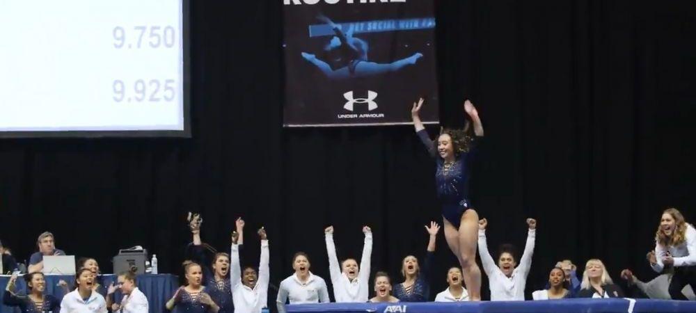 Numar de SENZATIE! 10 nu este suficient pentru aceasta gimnasta! A ridicat sala in picioare! Povestea impresionanta a tinerei!