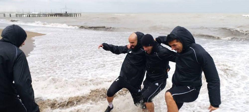 S-au antrenat pe furtuna! Cum s-a pregatit azi Sepsi in Antalya
