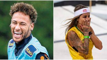 Neymar s-a combinat de sarbatori! Cum arata noua bomba sexy din viata starului brazilian, campioana mondiala la skateboarding. FOTO