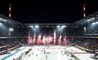 47.000 de oameni la derby-ul Germaniei la hochei! Imagini senzationale la Koln: scenografie, strigate si bataie pe gheata