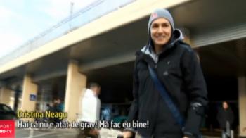 """Cristina Neagu a revenit dupa operatie! """"Vreau un aur cu Romania, la Olimpiada sau la Mondial!"""""""