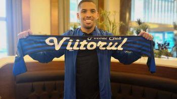 """Rivaldinho a revenit in Romania! Obiectivul brazilianului la Viitorul: """"Am venit aici sa fiu campion!"""""""