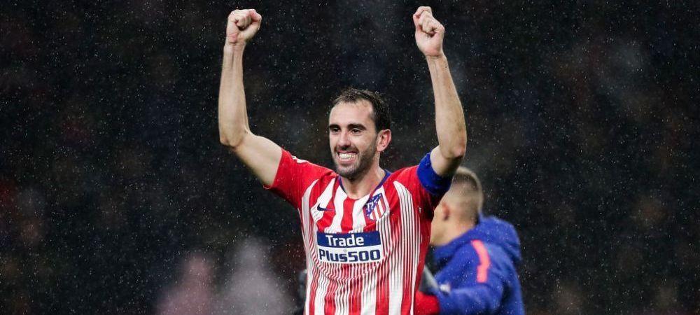 Capitanul paraseste corabia! Diego Godin pleaca de la Atletico Madrid! Destinatie surpriza pentru uruguaian!
