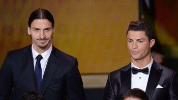 "Cristiano Ronaldo nu l-a impresionat pe Ibrahimovic! ""Asta numesti tu provocare?"" Ce sfat i-a dat suedezul!"