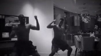 Pogba, asa te-ai bucurat cand a plecat Mourinho? :) Francezul a dansat nebuneste alaturi de fratele sau!