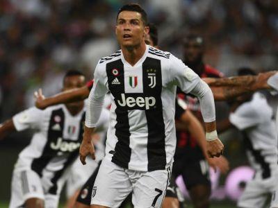 Juventus 1-0 AC Milan, Supercupa Italiei! GOOOL RONALDO! Meciul s-a jucat in Arabia Saudita, stadionul a fost arhiplin