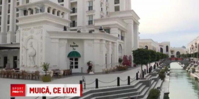 Oltenii, ca Nea Marin :) Jucatorii Craiovei stau intr-un hotel de 1 miliard de euro