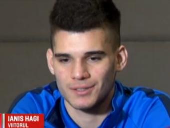 Ianis Hagi, despre un transfer la Galatasaray:  O sa incerc sa fac istorie acolo, la fel ca tatal meu!