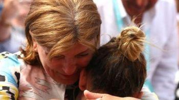 Imaginea care a TOPIT internetul! Ce gest a facut mama Simonei Halep in timpul meciului cu Kenin. VIDEO