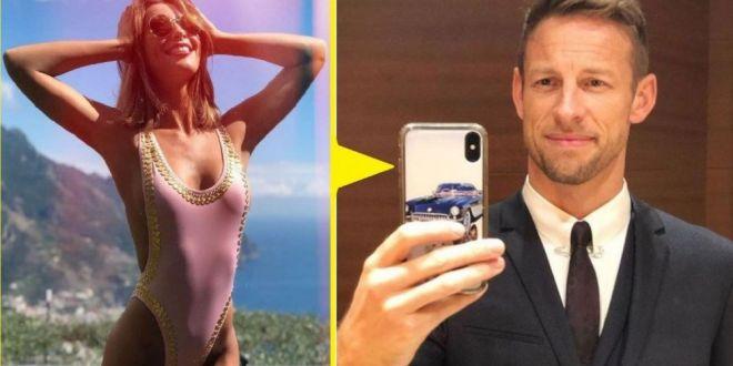 Jenson Button va fi tată înainte de nuntă. Cine e iubita fostului star al Formulei 1
