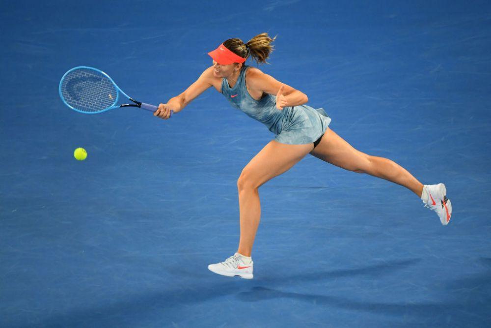 AUSTRALIAN OPEN | Maria Sharapova, in optimi dupa ce a invins-o pe Wozniacki: 6-4, 4-6, 6-3