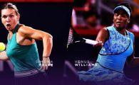 """Presa americana prefateaza duelul dintre Simona Halep si Venus Williams de la Australian Open: """"Impinge-o pe Halep pe marginea prapastiei"""""""