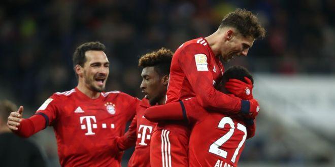Hoffenheim 1-3 Bayern: Goretzka si Lewandowski rezolva partida! | 15 meciuri de urmarit in acest weekend: Arsenal - Chelsea si Real Madrid - Sevilla