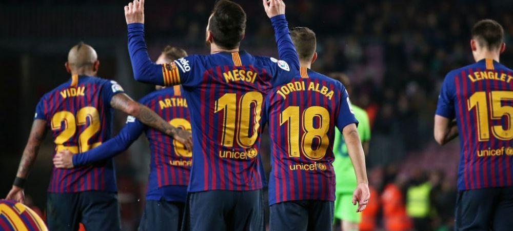 Barcelona a scapat de infrangerea la masa verde cu Levante! Explicatia incredibila data de Federatie