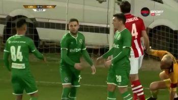 GOOOL ADI POPA! Primul sau gol dupa transferul la Ludogorets! Moti si Keseru au inscris si ei cu Honved! VIDEO