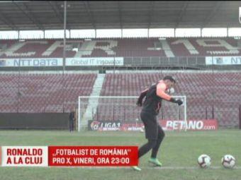 """""""RONALDO"""" din Liga 1 joaca la CFR Cluj si si-a lasat fara cuvinte colegii la antrenamente: """"Ce e asa complicat?!"""""""