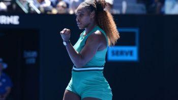Serena Williams, VICTORIE FARA EMOTII in turul al treilea: Urmeaza HALEP! | Care este programul de duminica al romanilor