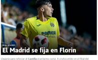 """""""Real Madrid il cumpara pe Florin!"""" Anuntul facut pe prima pagina de spanioli! Romanul care ajunge la campioana Europei"""