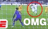 VIDEO | Cel mai penibil penalty pe care il poti vedea! Ce a putut face un arbitru la meciul Australia - Siria