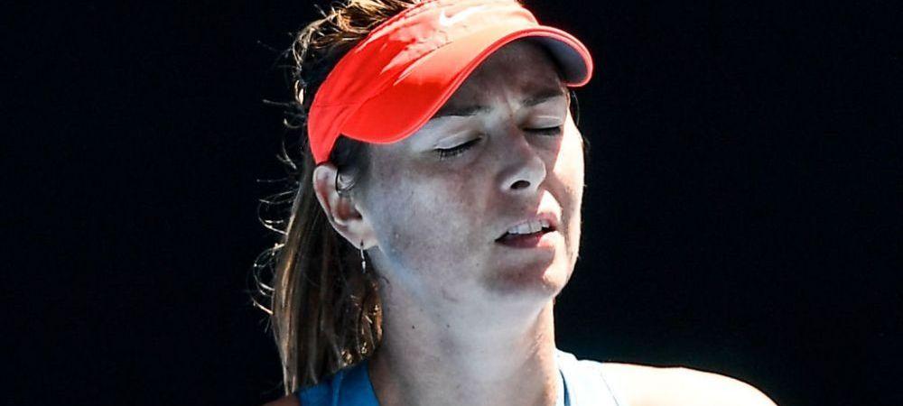 AUSTRALIAN OPEN | SCENE INCREDIBILE! Maria Sharapova, HUIDUITA la Melbourne: ce s-a intamplat cu rusoaica