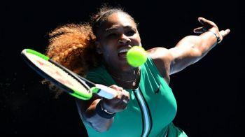 SIMONA HALEP - SERENA WILLIAMS, AUSTRALIAN OPEN   Serena se antreneaza doar cu BARBATI inainte de duelul din optimi cu liderul mondial! VIDEO SENZATIONAL