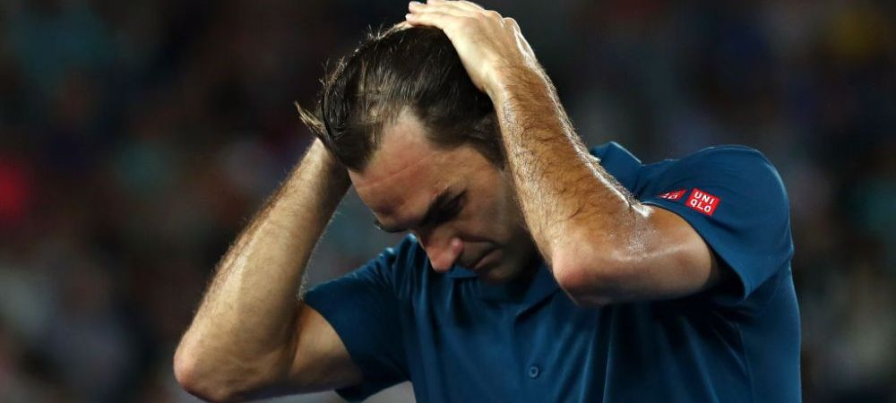 "AUSTRALIAN OPEN   Federer, cum rar este vazut! Elvetianul a rabufnit pe teren: ""Cred ca ai constiinta incarcata!"""
