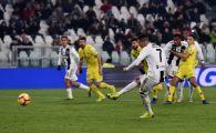 JUVENTUS 3-0 CHIEVO | Cristiano Ronaldo a ratat un penalty si alte 2 ocazii imense, doi jucatori au marcat in premiera in acest sezon