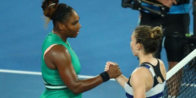 NU AI VOIE sa faci asta cand esti no.1 mondial!  Unde a pierdut Simona Halep meciul cu Serena Williams, din optimile AO