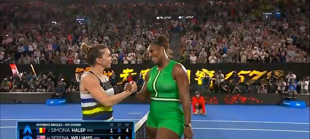"""""""Imaginea asta spune TOTUL!"""" Ce gest FANTASTIC a facut Simona Halep imediat dupa infrangerea cu Serena Williams. FOTO"""