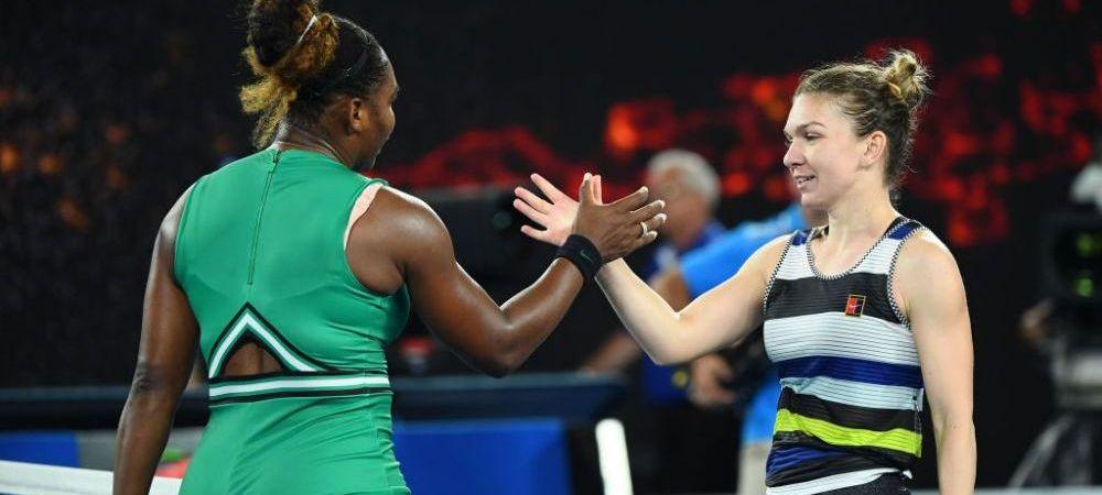 SIMONA HALEP - SERENA WILLIAMS, AUSTRALIAN OPEN | Americanca a doborat un nou record dupa victoria cu liderul mondial